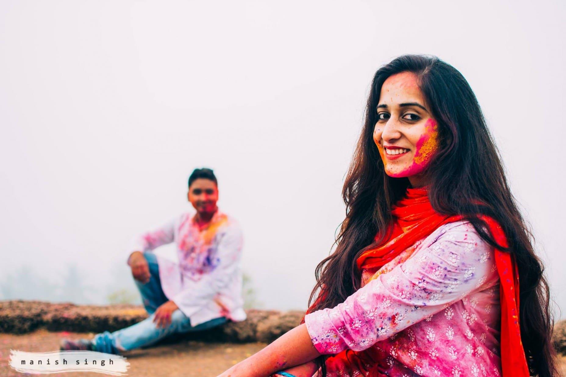 Manish Singh Photography Amita Holi4